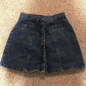 Urban Outfitters BDG a line denim skirt